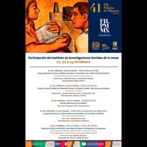 Participación del IIS en la FIL del Palacio de Minería @ Palacio de Minería
