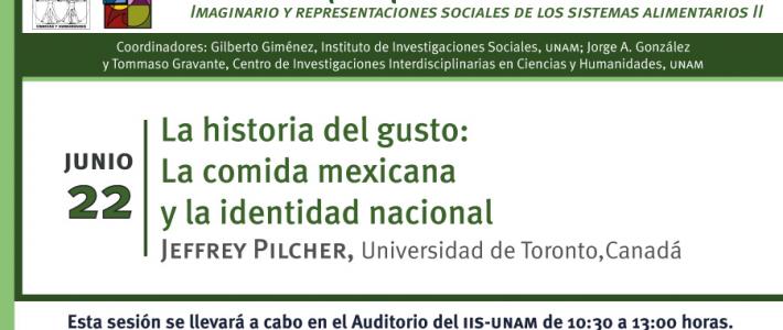 La historia del gusto: La comida mexicana y la identidad nacional