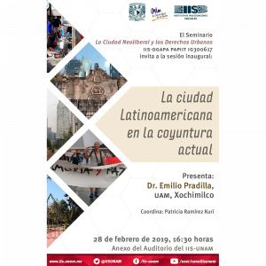 La ciudad Latinoamericana en la coyuntura actual @ Anexo