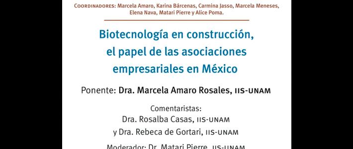 Biotecnología en construcción, el papel de las asociaciones empresariales en México
