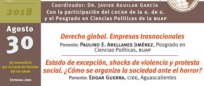 Seminario La Crisis, el poder y los movimientos sociales en el mundo global