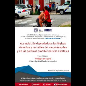 Acumulación depredadora: las lógicas violentas y rentables del narcomenudeo y de las políticas prohibicionistas estatales @ Auditorio