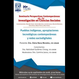 Pueblos indígenas, apropiaciones tecnológicas contemporáneas y redes sociodigitales @ Anexo