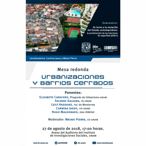 Urbanizaciones y barrios cerrados @ Anexo