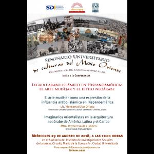 Legado arabo-islámico en Hispanoamérica: el arte mudéjar y el estilo neoárabe @ Auditorio