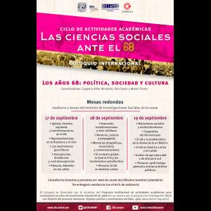 """Coloquio internacional """"Los años 68: política, sociedad y cultura"""" @ Auditorio"""