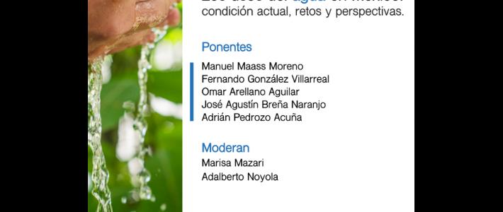 Los usos del agua en México: condición actual, retos y perspectivas