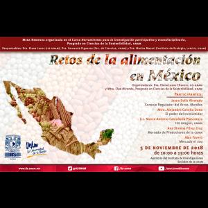 Retos de la alimentación en México @ Auditorio