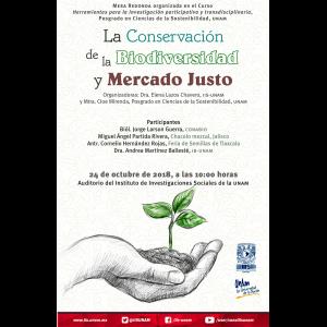 La conservación de la biodiversidad y el mercado justo @ Auditorio