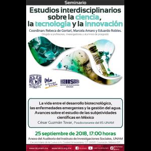 La vida entre el desarrollo biotecnológico, las enfermedades emergentes y la gestión del agua. Avances sobre el estudio de las subjetividades científicas en México @ Anexo