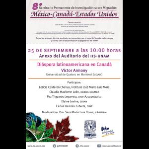 Diáspora latinoamericana en Canadá @ Anexo