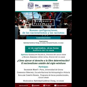 ¿Cómo ejercer el derecho a la libre determinación? El nacionalismo catalán del siglo veintiuno @ Auditorio
