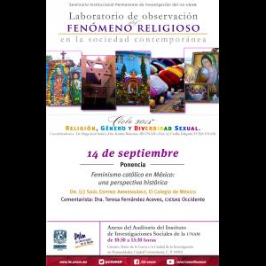 Feminismo católico en México: una perspectiva histórica @ Anexo