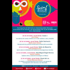Participación del IIS-UNAM en la Fiesta de las Ciencias y las Humanidades 2018 @ Museo de las Ciencias Universum
