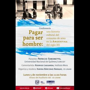 Pagar para ser hombre: una historia cultural del consumo de sexo en Argentina del siglo XX @ Anexo