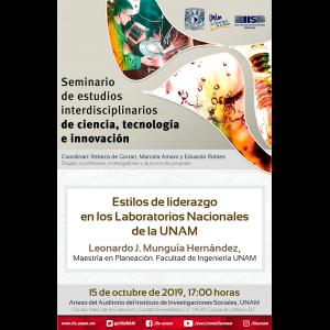Estilos de liderazgo en los Laboratorios Nacionales de la UNAM @ Anexo