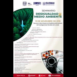 Seminario Desigualdad y Medio Ambiente @ Auditorio