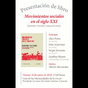 """Presentación del libro """"Movimientos sociales en el siglo XXI"""" @ Casa de las Humanidades"""