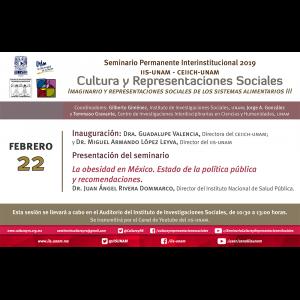 La obesidad en México. Estado de la política pública y recomendaciones @ Auditorio