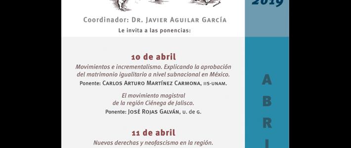 Seminario Movimientos Sociales. Sociedad, Política y Mercados en la Era Global (abril)