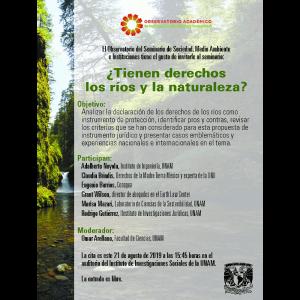 ¿Tienen derecho los ríos y la naturaleza? @ Auditorio