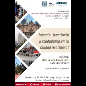 Espacio, territorio y ciudadanía en la ciudad neoliberal @ Anexo