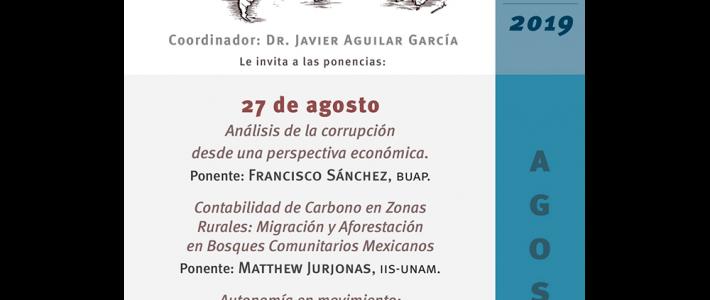 Seminario Movimientos Sociales. Sociedad, Política y Mercados en la Era Global (agosto)
