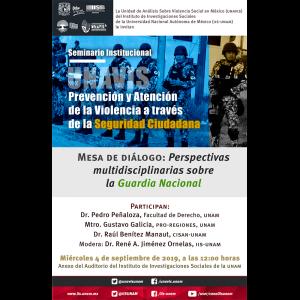 Perspectivas multidisciplinarias sobre la Guardia Nacional @ Anexo