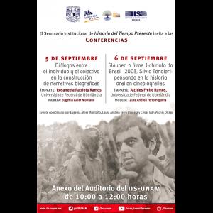 Seminario Institucional Historia del Tiempo Presente (septiembre) @ Anexo