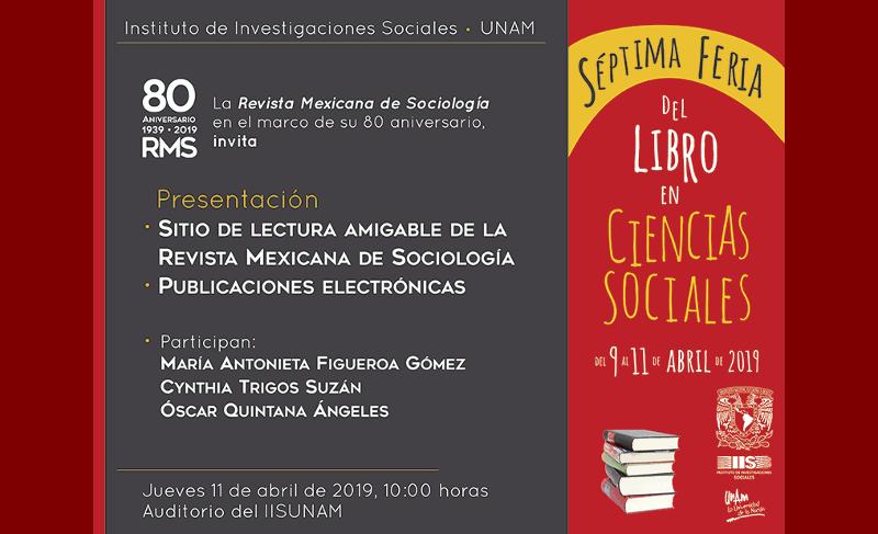 Presentación del sitio de la RMS y las publicaciones electrónicas del IIS-UNAM