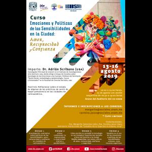 """Curso """"Emociones y políticas de las sensibilidades en la ciudad: amor, reciprocidad y confianza"""" @ Anexo"""