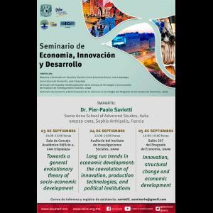 Seminario de Economía, Innovación y Desarrollo @ Auditorio