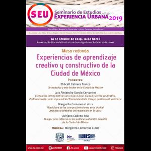 Experiencias de aprendizaje creativo y constructivo de la Ciudad de México @ Anexo