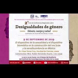 El dispositivo de la sexualidad y el dispositivo biomédico en la construcción del VIH/SIDA y la serodiscordancia en México @ Anexo