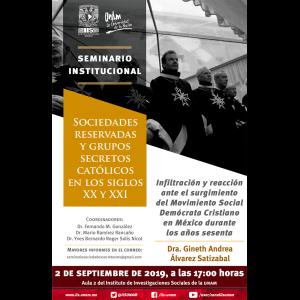 Infiltración y reacción ante el surgimiento del Movimiento Social Demócrata Cristiano en México durante los años sesenta @ Aula 2
