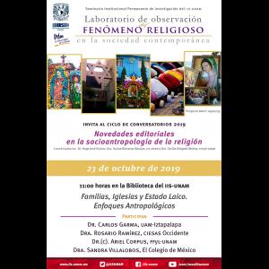 Familias, Iglesias y Estado Laico. Enfoques Antropológicos @ Anexo