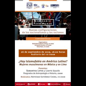 ¿Hay islamofobia en América Latina? Mujeres musulmanas en México y en Lima @ Auditorio