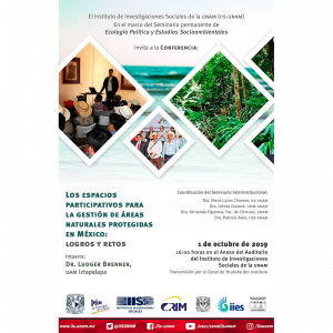Los espacios participativos para la gestión de áreas naturales protegidas en México: logros y retos @ Anexo