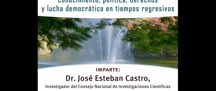 Aguas en conflicto: conocimiento, política, derechos y lucha democrática en tiempos regresivos