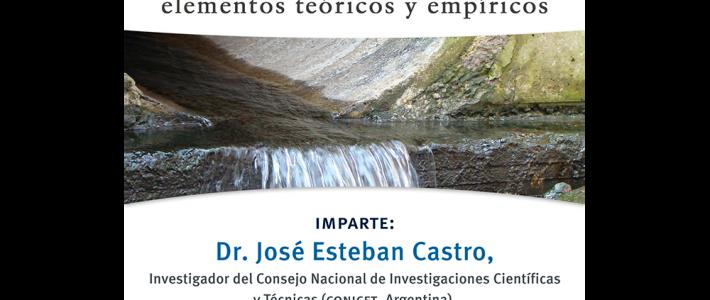 """Curso """"Procesos de democratización de la Política del agua: elementos teóricos y empíricos"""""""