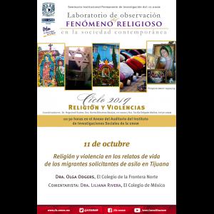 Religión y violencia en los relatos de vida de los migrantes solicitantes de asilo en Tijuana @ Anexo