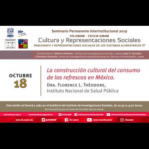 La construcción cultural del consumo de los refrescos en México @ Auditorio