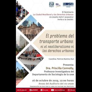 El problema del transporte urbano: ni el neoliberalismo ni los derechos urbanos @ Anexo