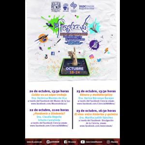 Participación del IIS-UNAM en la Fiesta de las Ciencias y las Humanidades 2021 @ Facebook del Museo de la luz