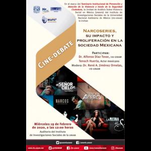 Narcoseries, su impacto y proliferación en la sociedad mexicana @ Auditorio