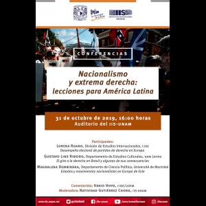Nacionalismo y extrema derecha: lecciones para América Latina @ Auditorio