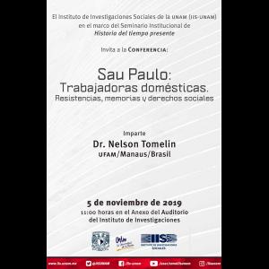 Sau Paulo: Trabajadoras domésticas. Resistencias, memorias y derechos sociales @ Anexo