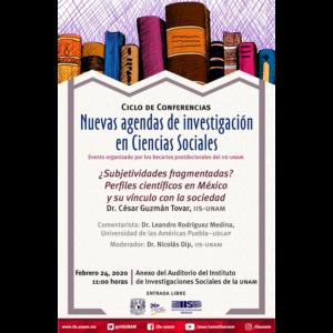 ¿Subjetividades fragmentadas? Perfiles científicos en México y su vínculo con la sociedad @ Anexo