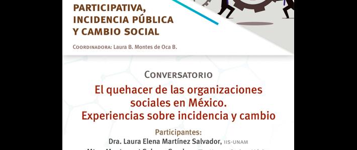 El quehacer de las organizaciones sociales en México. Experiencias sobre incidencia y cambio