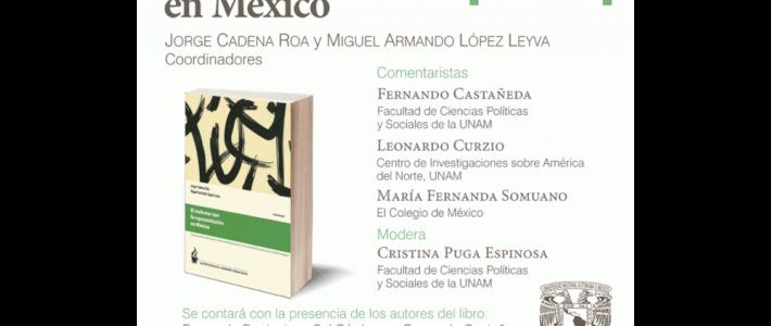 """Presentación del libro """"El malestar con la representación en México"""""""
